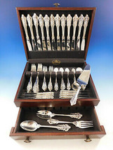Grande Baroque by Wallace Sterling Silver Flatware Set Service 76 pcs Dinner - $5,355.00