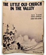The Little Old Church in the Valley Sheet Music - $1.50
