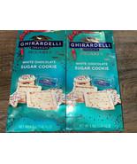 Ghirardelli ~ White Chocolate Sugar Cookie 4.8 oz,  2-Bags ~ 08/2021  - $21.49