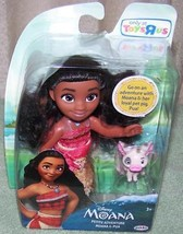 "Disney Petite Moana & Pua 6"" Doll New - $18.88"