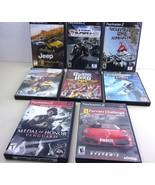 PS2 Games Playstation 2 Lot of 8   Guitar Hero Medal of Honor Ferrari Ch... - $18.80