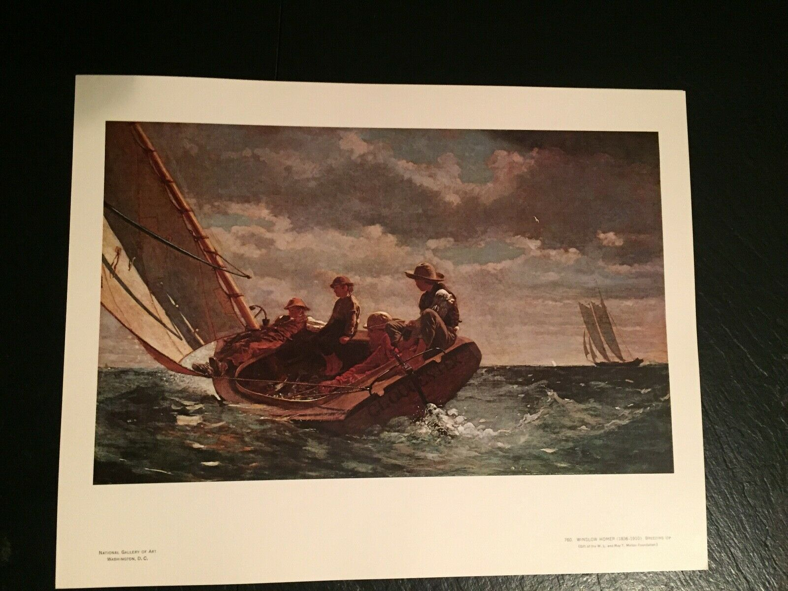 Primary image for Winslow Homer A Fair Wind Sailing Boys Sail Boat Art Print