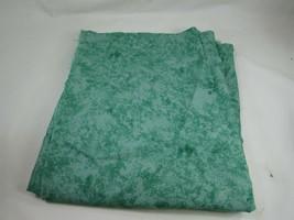 Vintage Sponged Sponge Print Green Cotton Quilting Fabric 49459 - $11.87