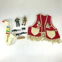 Vintage Toys Proll Toys Saxaphone Cowboy Vest Action Figures Rifles Lot ... - $29.84