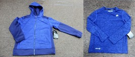 2-SET RUSSELL BLUE ATHLETIC HOODIE & CREW SHIRT Boys Jacket XS 4-5 Sport... - $27.67