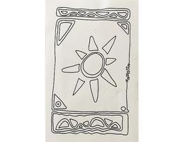 Terry Medaris Art Stamps Unmounted Rubber Stamp