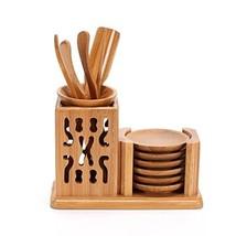 Astra Gourmet Bamboo Tea Accessories Chinese Gongfu Tea Ceremony Utensil... - $34.19