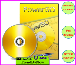 PowerISO 7.3  Lifetime License Key  Instant Delivery 30s ⏰ FULL DOWNLOAD  - $1.99