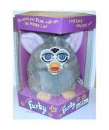 Tiger Electronics Furby Gray Blue eyes ERROR Box(Factory Sealed) - $143.29