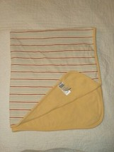 Carter's CHILD OF MINE Yellow Red Blue STRIPED BABY BLANKET Stripes 100%... - $13.85