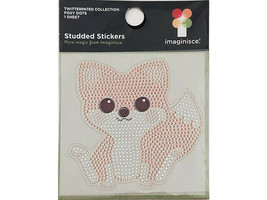 Imaginisce Twitterpated Collection Foxy Dots Studded Sticker #001190