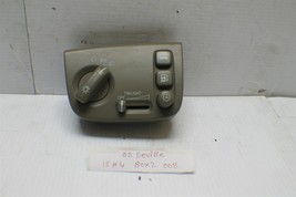2000-2005 Cadillac Deville Headlight Trunk Fuel Gas Switch 25680169 2 08... - $24.74