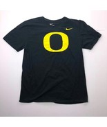 "The Nike Tee Men's Large Black Yellow ""O"" Graphic T Shirt - $16.81"