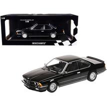 1982 BMW 635 CSi Black Metallic Limited Edition to 504 pieces Worldwide ... - $154.98