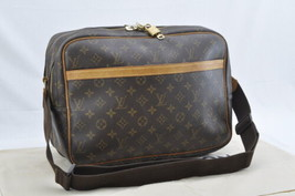 LOUIS VUITTON Monogram Reporter GM Shoulder Bag M45252 LV Auth 7231 - $498.00