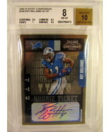 2004 Playoff Contenders #169 Roy Williams Beckett BGS 8.0 - $12.59