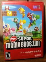 Pre-Owned Super Mario Bros. Wii (Nintendo Wii, 2009) Complete CIB Good  - $14.01