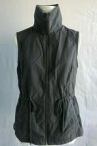 Columbia Womens Sleeveless Full Zip Vest, Charcoal Size S - $14.84