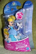 "Disney Princess Little Kingdom CINDERELLA 3.5"" Mini Doll New - $8.88"