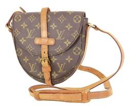 Authentic LOUIS VUITTON Chantilly PM Monogram Canvas Shoulder Bag Purse ... - $319.00