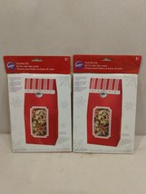 6 WiltonTent Box Kit Valentines Day New in Package  - $17.79