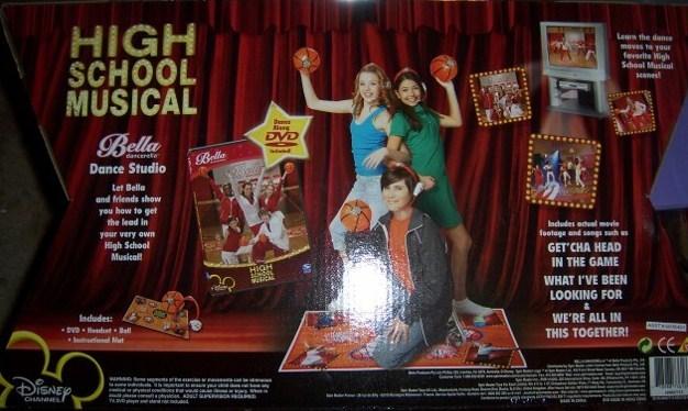 High School Musical Bella Dancerella Dance Mat NEW