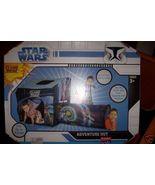 Star Wars Clone Wars Adventure Hut Crawl Port Jedi Knights Carrying Case... - $35.00