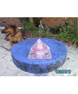"""Orgone Energy Pyramid """"Pink And Purple"""" with Tige reye - $39.95"""