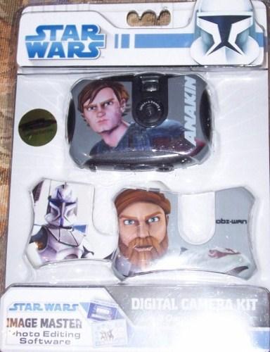 Star Wars Digital Camera Kit NEW 3 Face Plates Obi Wan