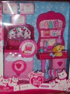 Barbie Luv Me 3 Kitties Checkup Playset NEW Cat Kitty Veterinary Office