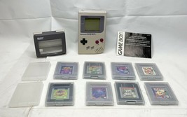 Nintendo Game Boy Handheld Console - With Magnifier, 8 Games With Cases Tested - $299.99
