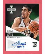 2012-13 Gustavo Ayon Panini Innovation Rookie Auto - Milwaukee Bucks - $1.19
