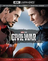 Marvel's Captain America Civil War (4K Ultra HD+Blu-ray+Digital)