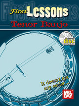 First Lessons Tenor Banjo/Book w/CD  - $8.99