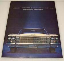 1963 Cadillac ~ Original Full Page Print Ad ~ GM Car Auto - $9.50