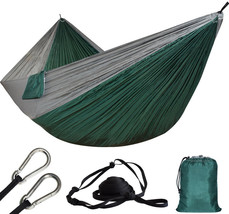 Ultra-large 2 Person Parachute Cloth Hammock Double Garden Swing Nylon S... - $17.32