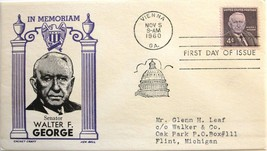 Nov. 5, 1960 First Day of Issue, Ken Boll Cover, Walter F. George #70 - ₹114.82 INR
