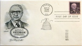 Nov. 5, 1960 First Day of Issue, Artmaster Cover, Walter F. George #69 - $1.58