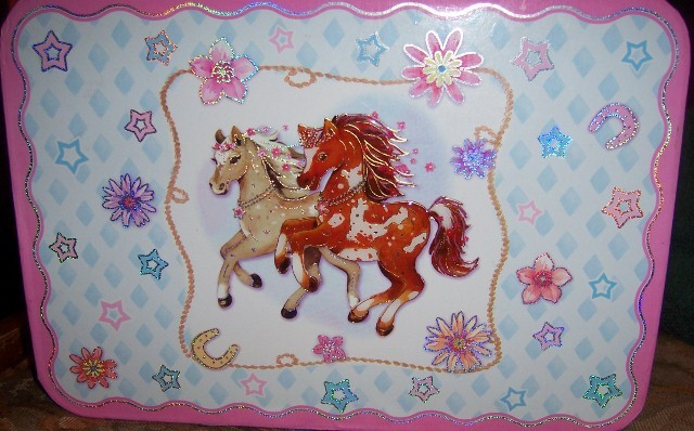 Pony Craft Box with Flashing Lights NEW Greeting Cards