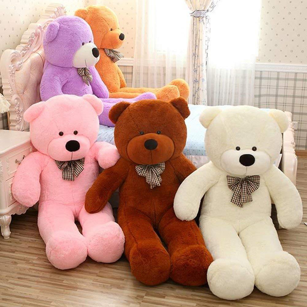 "WOWMAX White Teddy Bear Ultra Soft Plush Toys Big Stuffed Animal Cuddly Gift 47"""