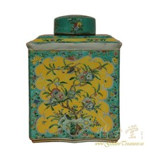 An item in the Antiques category: Vintage Chinese Porcelain Vase/Jar with lid 18LP85