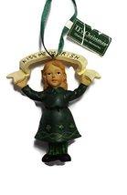 Irish Child Ornament 4 inches (Girl) - $15.00