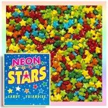 Neon Stars Candy, 2LBS - $13.95