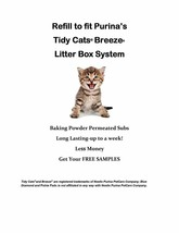 120 Pishie Cat Generic Pads for Litter Box System with Baking Powder Fre... - $62.95