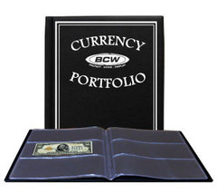 Deluxe 30 Pocket Currency Portfolio (Burgundy Cover) - $15.95