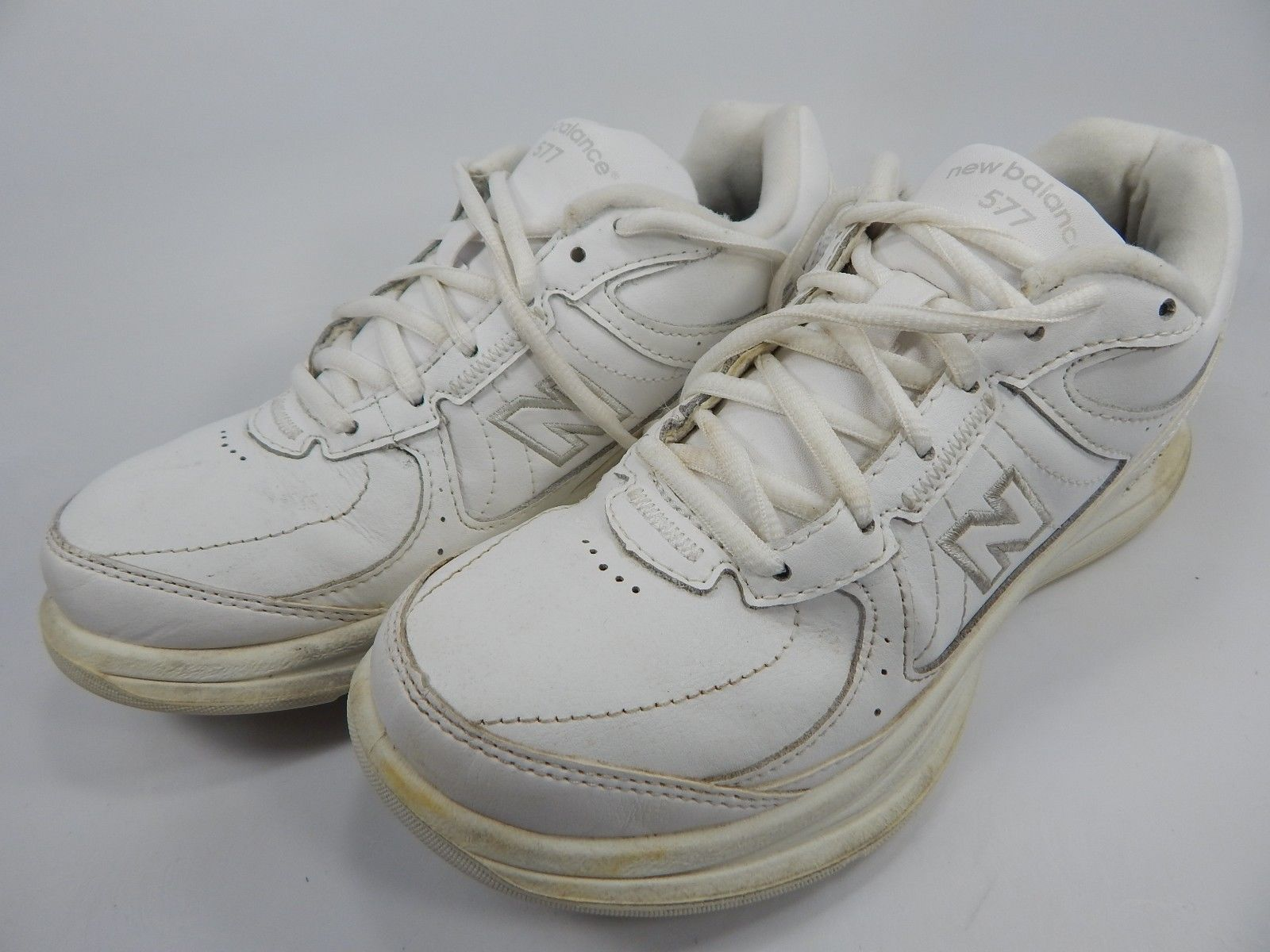 New Balance 577 Women's Walking Shoes Size US 6.5 M (B) EU 37 White WW577WT