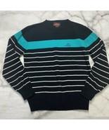 Jordache Vintage 80s Womens Horse Head Logo Sweater Size L Large Black S... - $42.52