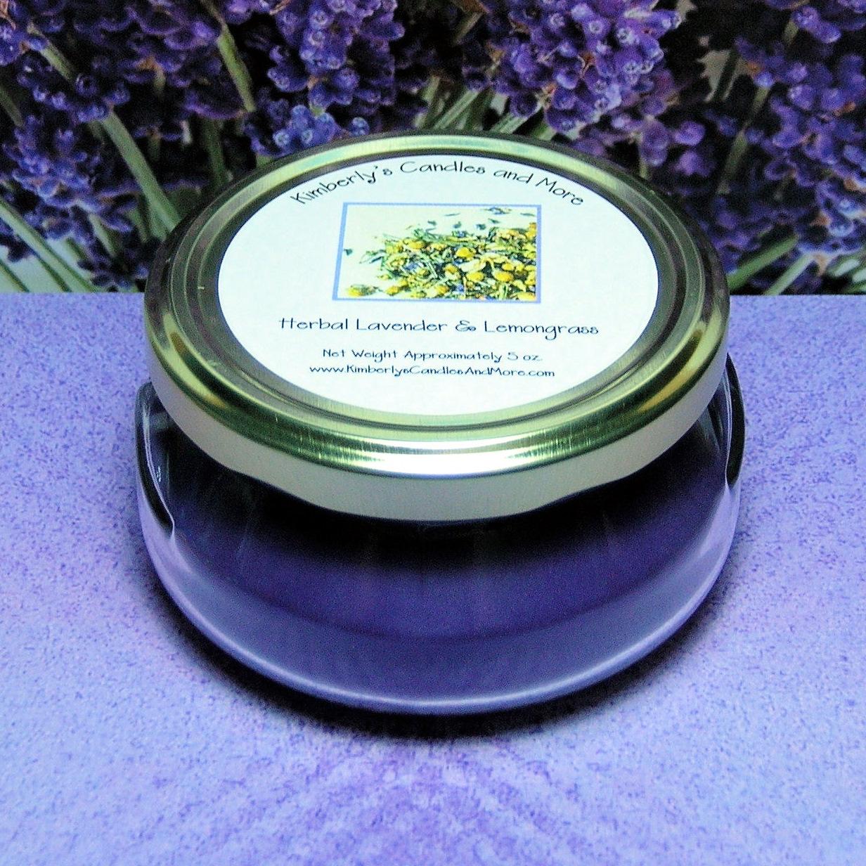 Wickless herbal lavender 1