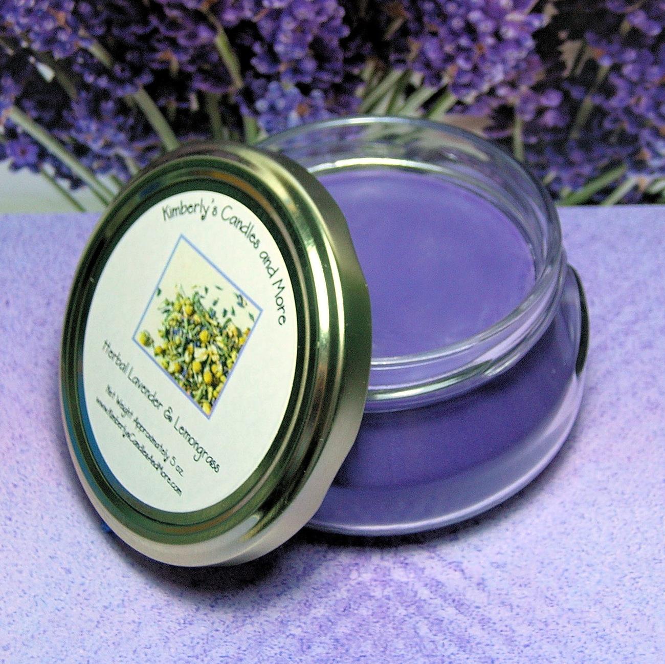 Herbal Lavender & Lemongrass 6 oz. Tureen Jar Wickless Candl