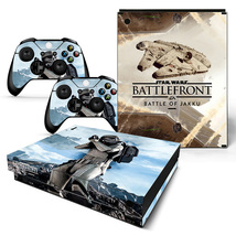Star wars Sticker Decal Design for Xbox One X Console + Two Controller S... - $15.00
